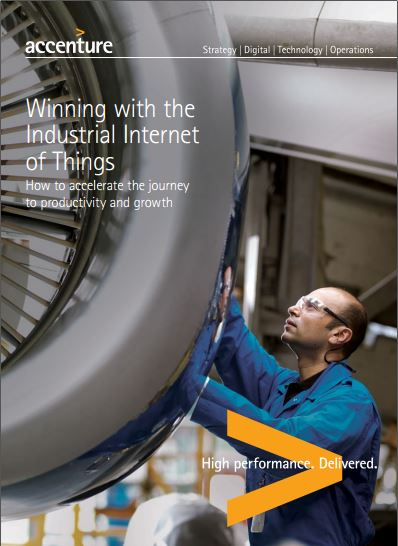 Accenture Industrial Internet of Things Positioning Paper Report 2015